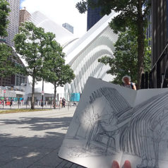 World Trade Center Westfield sketches