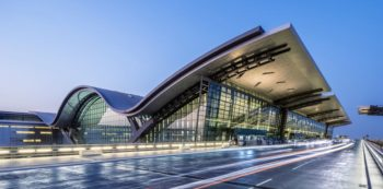 Hamad International Airport Passenger Terminal Complex image courtesy of HOK