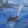 Watercolor Maritime sailboat artist