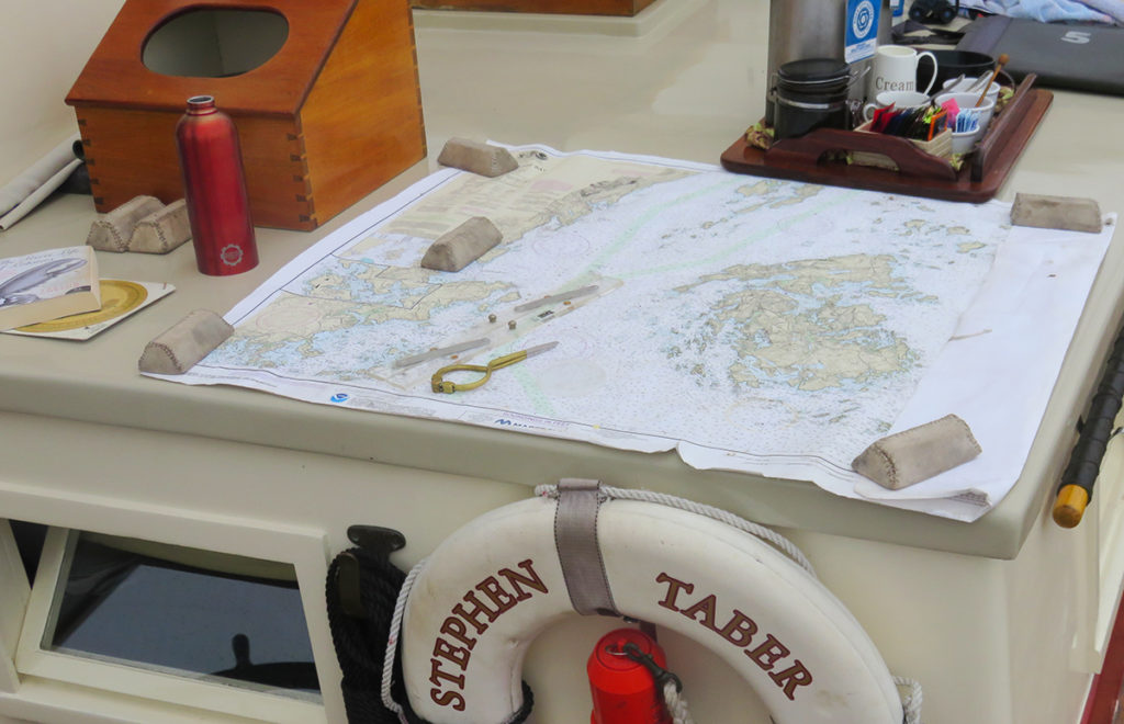 Sailing Map Stephen Taber