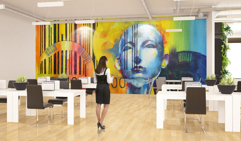 Office Design Art WeWork Decor Space