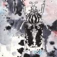 Goliath Rorschach Moleskine Postal notebook