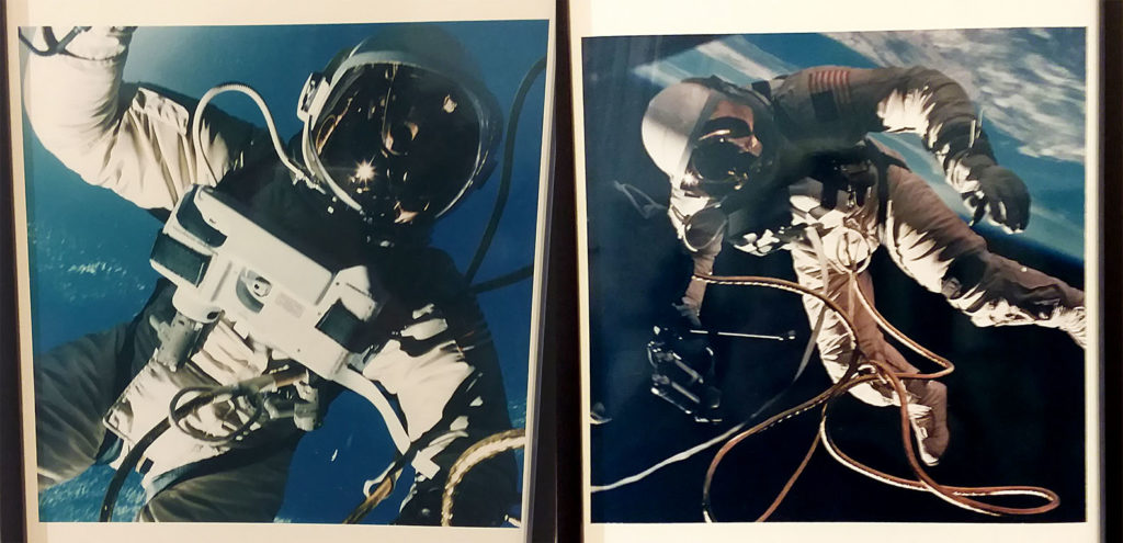 Space Walk Gemini Ed White moon space travel outer space innovation design art science Copenhagen museum futures