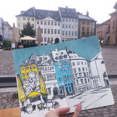 Sketch Journal: Copenhagen, Denmark