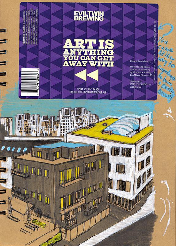 Veserbro Sketching Architecture Design Copenhagen Denmark Art Culture Urban Planning Sustainability Sketchbook