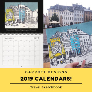 Ideas Gift Giving Designer Architecture 2019 Calendar Art Toys Books Home Decor Office Decor