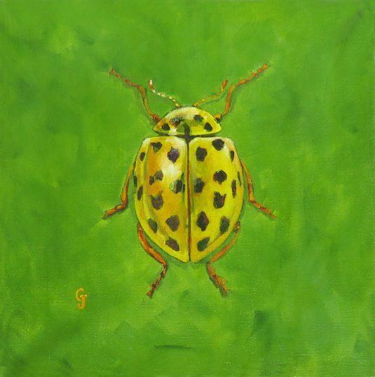 Lemon Lime Bug Insect Art Decor Wall Art Painting buy art