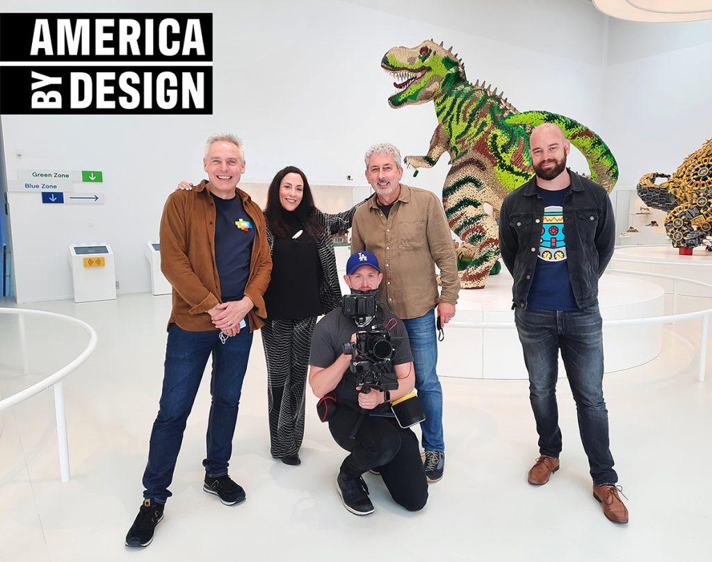 America by Design LEGO creativity art