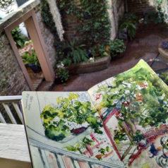Sketch Journal: Savannah, GA