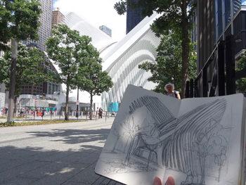 World Trade Center Westfield sketches