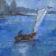 Watercolor Maritime sailboat artist