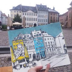 Sketch Journal: Copenhagen, Denmark